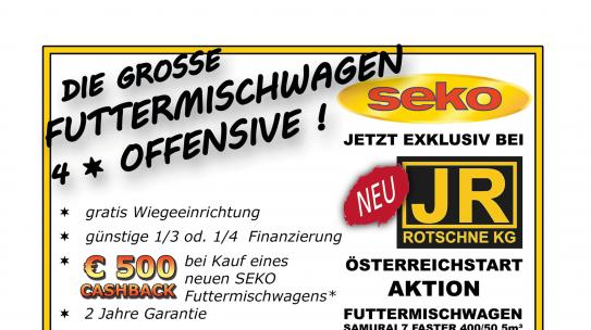 Große Futtermischwagen-Offensive