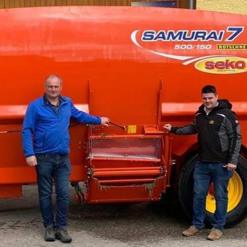 Familie Preinfalk überzeugt von SEKO Futtermischwagen